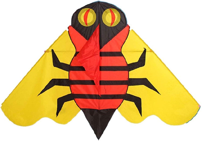 punto de venta de la marca LQW HOME-kite Triángulo Profesional para para para Adultos Cometa Fácil de Volar Colorido Estilo Animal Cometa Plegable para Exteriores (Color   rojo amarillo, tamaño   1000 Meter Line)  saludable