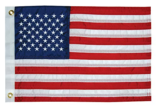 Taylor Made Products 8424 U.S. 50 Star Sewn Boat Flag, 16 x 24 inch