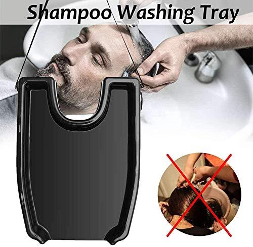 TXYFYP Mobiele Salon, Draagbare PVC Opblaasbare Spoelbak voor Wassen en Snijden Haar thuis en in Bed Zonder Salon Stoel