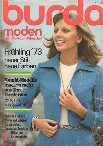 Burda Moden 01/1973 Kombi-Modelle machen mehr aus Ihrer Garderobe