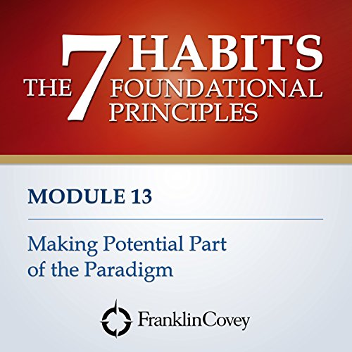 Couverture de Module 13 - Making Potential Part of the Paradigm