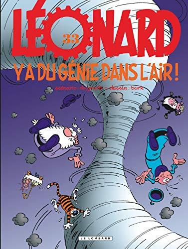 Léonard, tome 33 : Y a du génie dans l'air !
