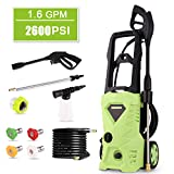 Best Electric Power Washers - Homdox 2600 PSI Electric Pressure Washer 1600W Power Review