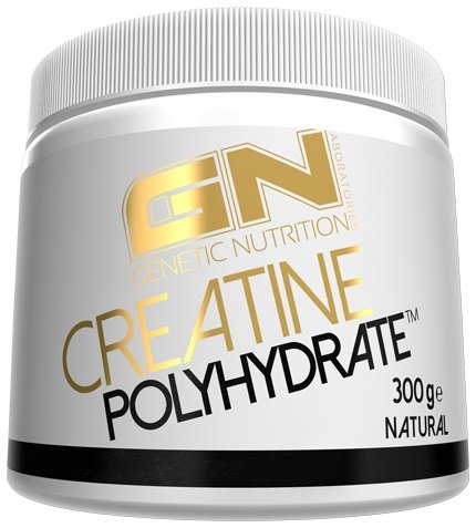 GN Laboratories Creatine Polyhydrate Supplement Leistungsfähigkeit Muskelaufbau Kreatin Hydrochlorid 300g (Neutral)