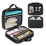 DIMJ Neceser Maquillaje, Bolsa de Maquillaje con Bolsa Desmontable Organizador de Maquillaje Bolso...