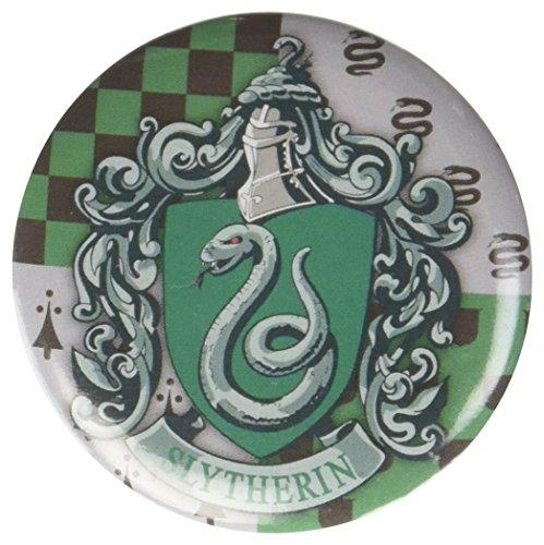 Harry Potter - Slytherin Button Pin Novelty Accessory,Multi