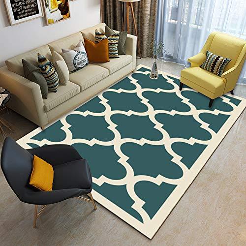 QWEASDZX Rug Living Room Bedroom Carpet Classic Decorative Floor Mat Coffee Table Carpet Non-Slip Carpet 200x300cm