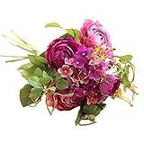 Alaso Fleurs Artificielles,Fausse Fleur, Bébé Breath DIY Faux Fleurs Arrangement de Fleur Bouquets de Fleurs de Mariage Décoration de Maison Fleur de Simulation