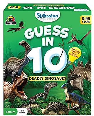 Skillmatics Card Game : Guess in 10 Animal Planet | Gifts for Ages 6 and Up | Super Fun for Travel & Family Game Night