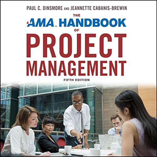 The AMA Handbook of Project Management, Fifth Edition audiobook cover art