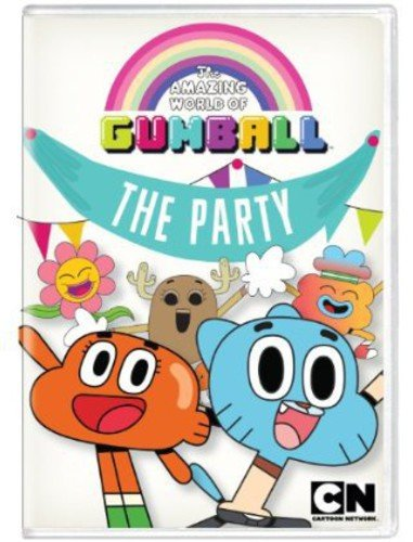 AMAZING WORLD OF GUMBALL 3: THE PARTY - AMAZING WORLD OF GUMBALL 3: THE PARTY (1 DVD)