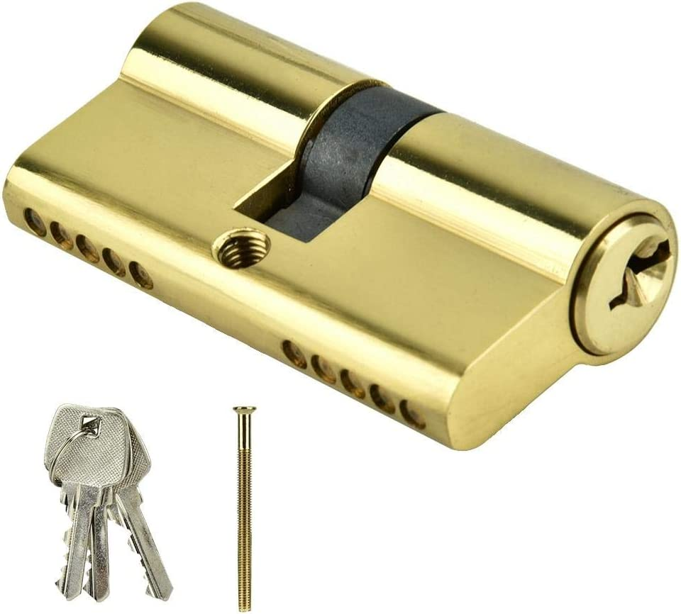 Anti-theft online shop Copper Dual Open Lock Cylinder Security Cy Door New product! New type