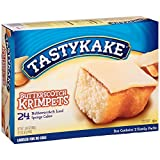Tastykake Butterscotch Krimpets - 24 Cakes Total (12 Packs of 2 Cakes)...