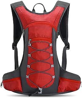 Fyuanmeiiqxbbb hydration backpack Bombastic Capacity Waterproof Bicycle Bag Reflective Outside Sport Backpack Mountaineeri...