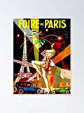 guyfam Paris Vintage Bastille Day Advertising Print Poster