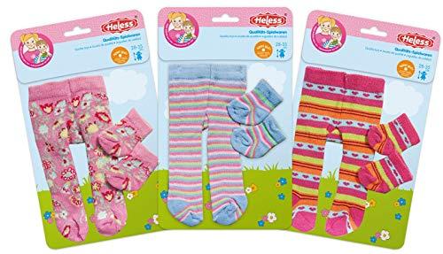 Heless 760heless pour Femme avec des Chaussettes pour Petits poupée