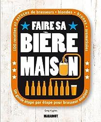 Couverture livre Faire sa Bière Maison