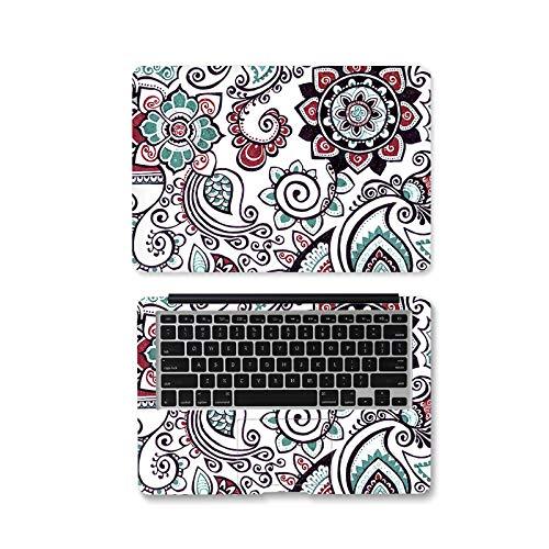 Pegatinas de flores para portátil de 12 pulgadas 14 pulgadas 15.6 pulgadas para xiaomi AIR 13.3/asus/MacBook pro/acer/hp/lenovo-AX-359-14
