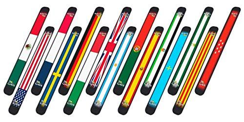 Protector Pro Elite Básico Bandera para Pala de Padel (Elige Entre Las 15 Banderas Disponibles).