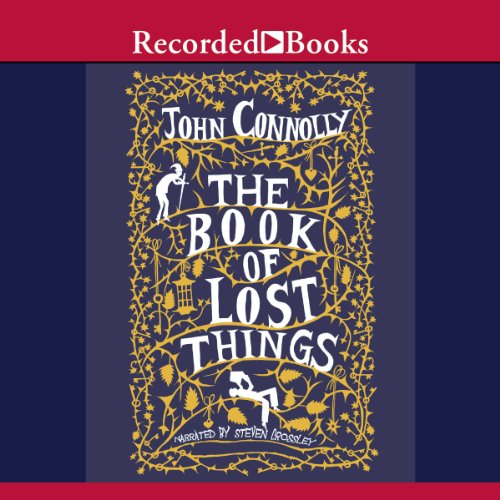 The Book of Lost Things audiobook cover art