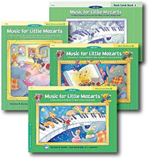 Music for Little Mozarts Level 2 - Piano Curriculem Set - Lesson Book, Discovery Book, Workbook and Flash Cards Included