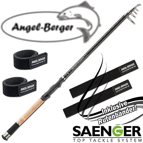 Angel-Berger Sänger Specialist Tele Teleskoprute alle Modelle Rutenband (3,00m / 40-90g)
