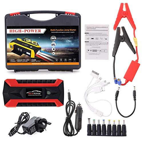 Buy WXCC 89800mAh 4 USB Portable Car Jump Starter Pack Booster Charger Battery Power Bank