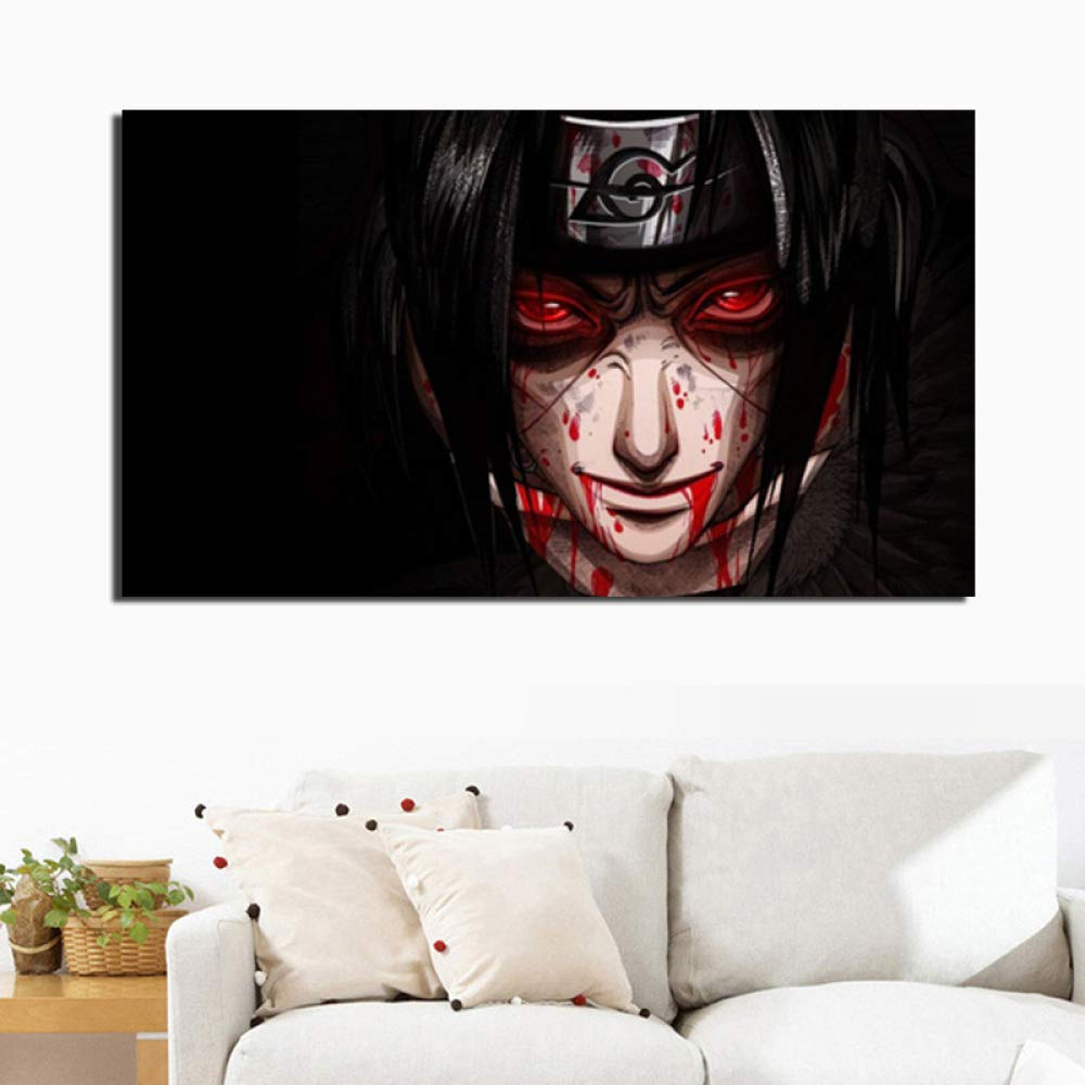 tzxdbh Classic Japanese Cartoon Comic Bar Poster Canvas Painting ...