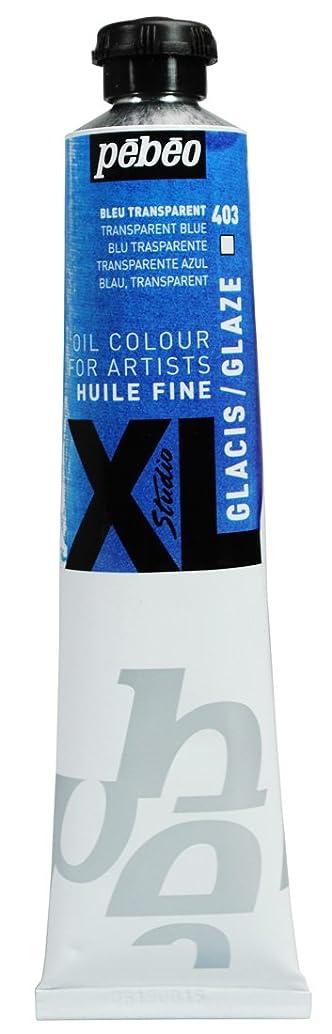 Pebeo Studio Xl Fine Oil 80-Milliliter, Glaze Blue
