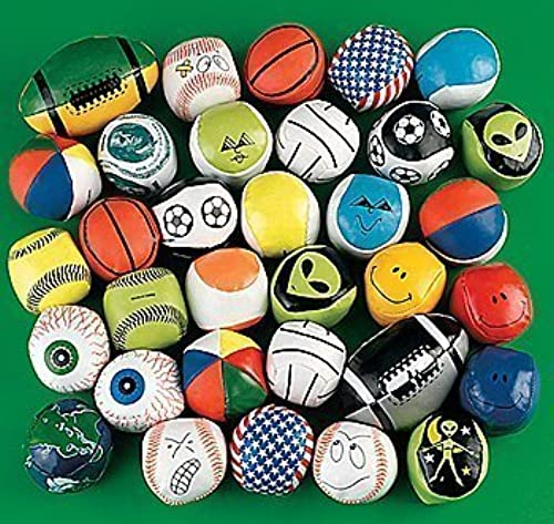 Mega Kick Ball Assortment (100 pieces) - Bulk by Ruksikhao