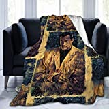 WUKON Super-Soft Flannel Fleece Steven Seagal Blanket,Suitable for Sofa Micro Fleece Blankets for Adults and Children, Bed Blankets 60'' x50