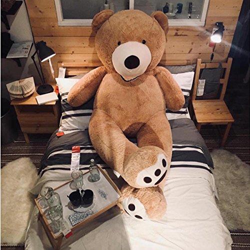 Samtig Weich und Kuschelig Riesiger Plüschtier Teddybär 200 cm Großer Teddybär Giant Teddy Bears Großer weicher Plüsch Kinder Jumbo Größe …