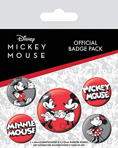 Mickey Mouse BP80628 Aufkleber, Mehrfarbig, 10 x 12.5 cm
