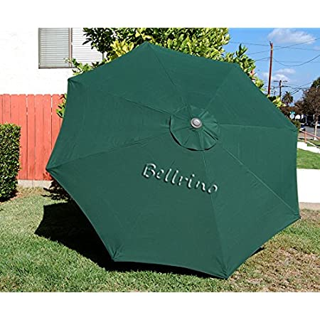 Canopy only Green Double Vented Formosa Covers Replacement Patio Umbrella Canopy 11ft 8 Ribs