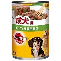 P2チャムざく切りビーフ&野菜400G おまとめセット【6個】