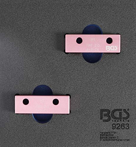BGS 9263 | Jeu d'outils de verrouillage d'arbre à came | pour Fiat 2.0l 20V