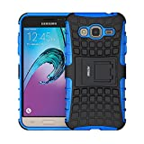 Coque Galaxy J3 (2016), Fetrim Armor Support Protection Étui,anti chocs Bumper Étui...