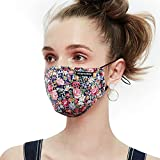 Anti Pollution Dust Mask Washable and Reusable PM2.5 Cotton Face Mouth Mask Protection from Pollen Allergy Respirator Mask