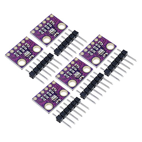 Aideepen 5PCS BMP280 3.3V Digital Pressure Sensor Module High Precision Atmospheric Module for arduino Replace BMP180