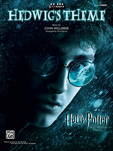Hedwig's Theme: Harry Potter and the Half-blood Prince, 5 Finger: Five Finger Piano