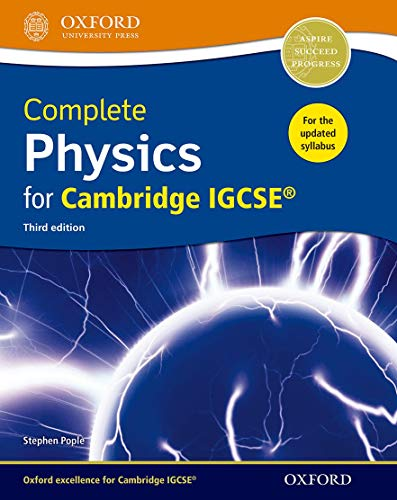 Complete physics for Cambridge IGCSE. Student book. Per le Scuole superiori. Con espansione online by Aa. Vv.
