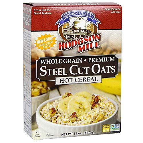 Hodgson Mills Premium Steel Cut Oat, 18 Oz (Pack of 4)