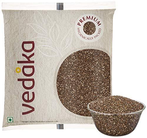 Amazon Brand – Vedaka Raw Chia Seeds, (100g)