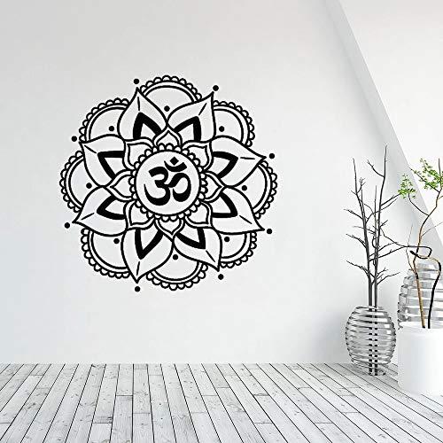 Mandala Wall Sticker Yoga Buddha Sticker Bohemian Style Boho Wall Art Inspirational Wall Decal Inspirational Phrase Sticker Wall Sticker