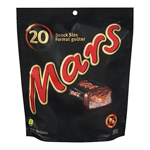 Mars Fun Size Stand up Pouch 20ct 260 Grams 9.17 Ounces Imported from Canada