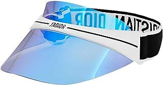 Dior DIORCLUB1 Visor White/Blue one Size fits All Unisex Sunglasses