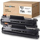 SWISS TONER 2 Schwarz CF279A Tonerkartuschen Kompatibel für HP 79A CF279A für HP Laserjet Pro M12 M12W M12A M26 M26A M26NW Drucker