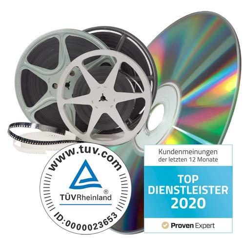 Schmalfilme digitalisieren, Formate: Super 8, Normal 8 (12cm Spule)