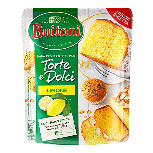 Buitoni Torta al Limone Impasto pronto Fresco per Torta al Limone, 10 Porzioni, 600 g