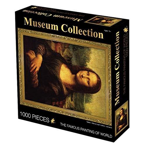 Kinderpuzzle-Stichsäge Museum Sammlung Berühmte Gemälde Puzzle, Weltmeisterwerk-Reihe, Klassik 1000 Stück Boxed Fotografie Stichsäge Spiel Kunst for Erwachsene & Kinder (Color : G)